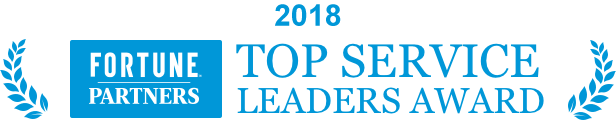 Fortune Top Service Leaders Award 2018